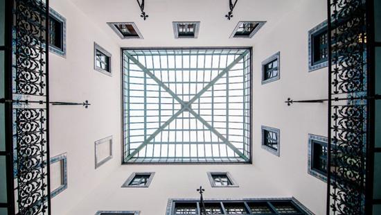 Instal·lacions de les oficines de la Junta Arbitral de Consum de Barcelona, a la ronda de Sant Pau, 43-45, 2a planta.