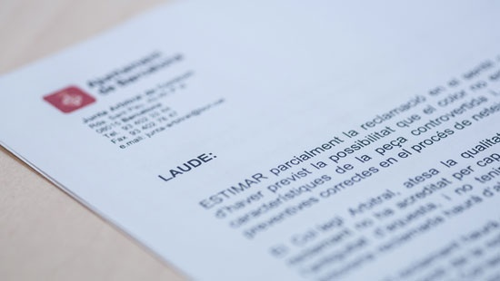 The ruling is the resolution of the arbitration procedure. It is given by the arbitration body.