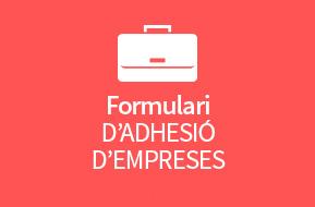 Formulari d'Adhesió d'Empreses