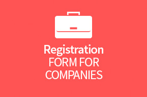 Registration form for companies