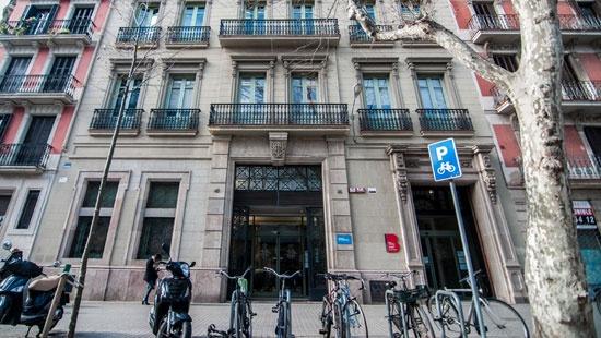 Edifici de la Junta Arbitral de Consum de Barcelona, a la ronda de Sant Pau, 43-45, 2a planta.